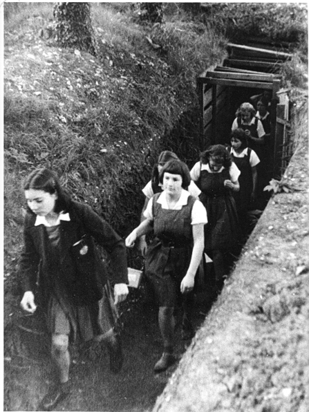 Bedales during WW2 (1940)