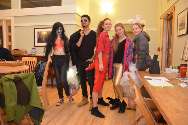 Bedales at Putney - Dressed for Halloween