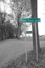 Bedales at Putney - Putney sign